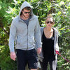 Miley Cyrus and Liam Hemsworth Holding Hands Pictures