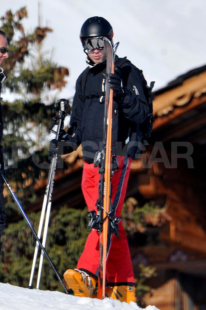 Prince William went on a ski vacation to France with the Middleton family.