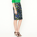 Reminiscent of Erdem's bold bouquets and Dolce & Gabbana's mix of hues, this slick floral version can easily translate into your work wardrobe with a pair of smart pumps and a lightweight sweater.