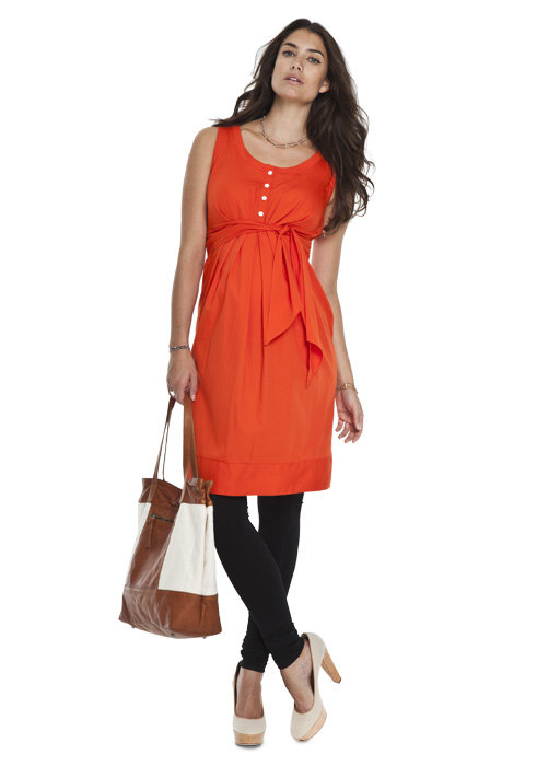 Isabella Oliver Cotton Summer Dress ($159)