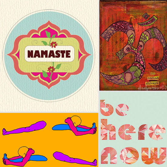 10 Yoga Prints From Etsy to Inspire Your Walls