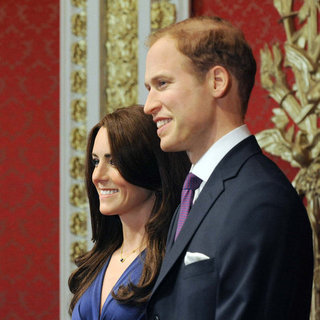 Prince William and Kate Middleton Wax Figures