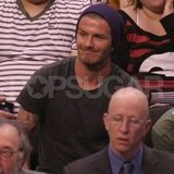 David Beckham went to a Clippers game.