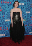 Creator Lena Dunham at the premiere of HBO's Girls in NYC.