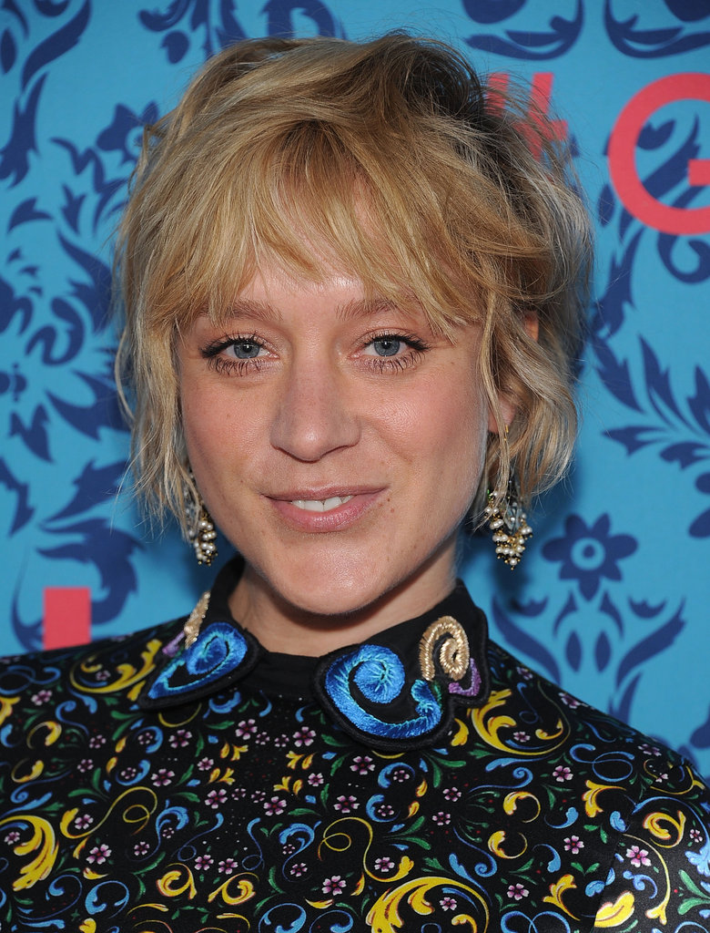 Chloe Sevigny wore a colorful patterned dress to the premiere of HBO's Girls in NYC.