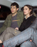 Keira Knightley cozied up to her boyfriend James Righton in a car out in London.