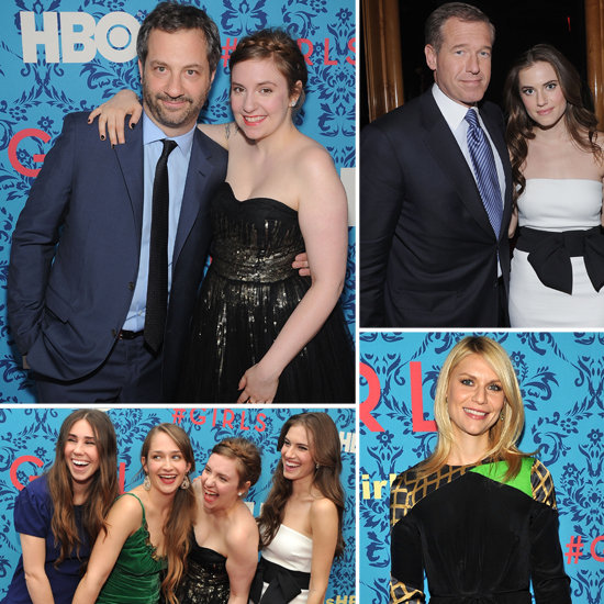 HBO's Girls Premieres With Creator Lena Dunham, Producer Judd Apatow, and Famous Fans