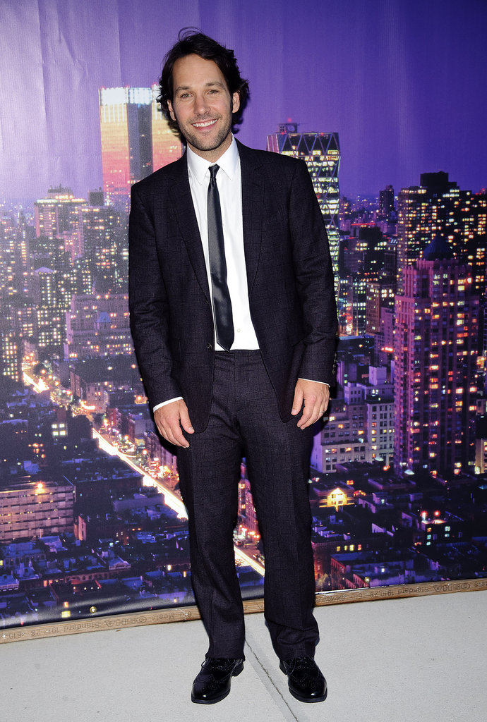 Paul Rudd was dapper for an Our Idiot Brother premiere in NYC during Aug. 2011.
