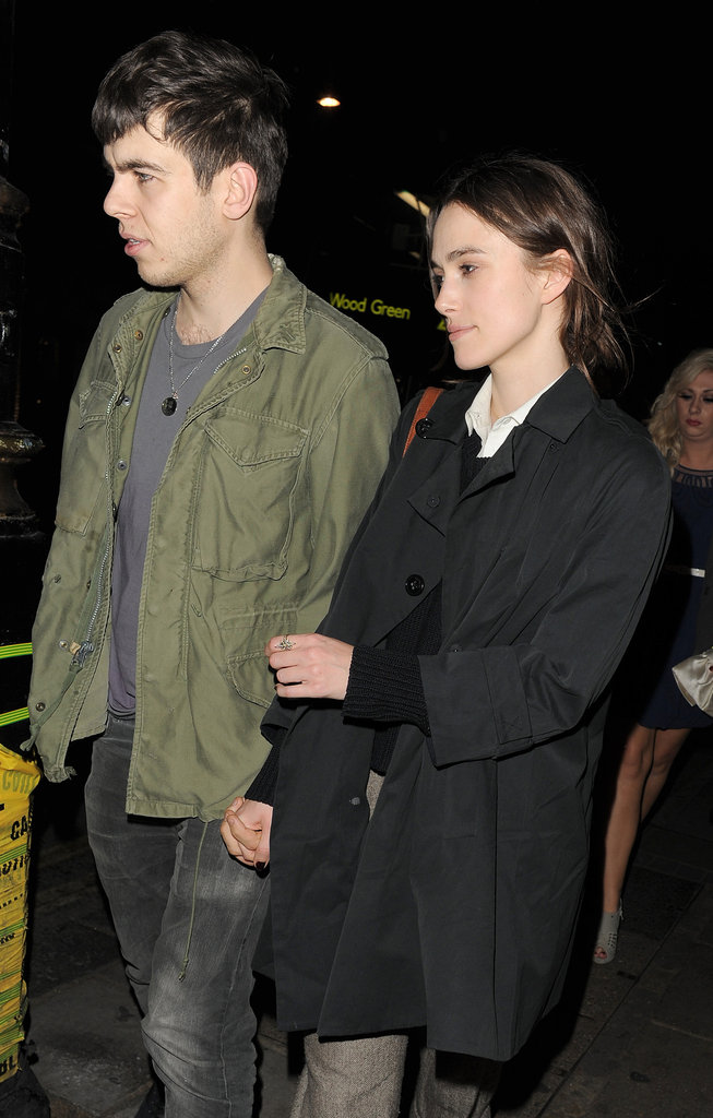 Keira Knightley and her boyfriend James Righton spent a night out in London.