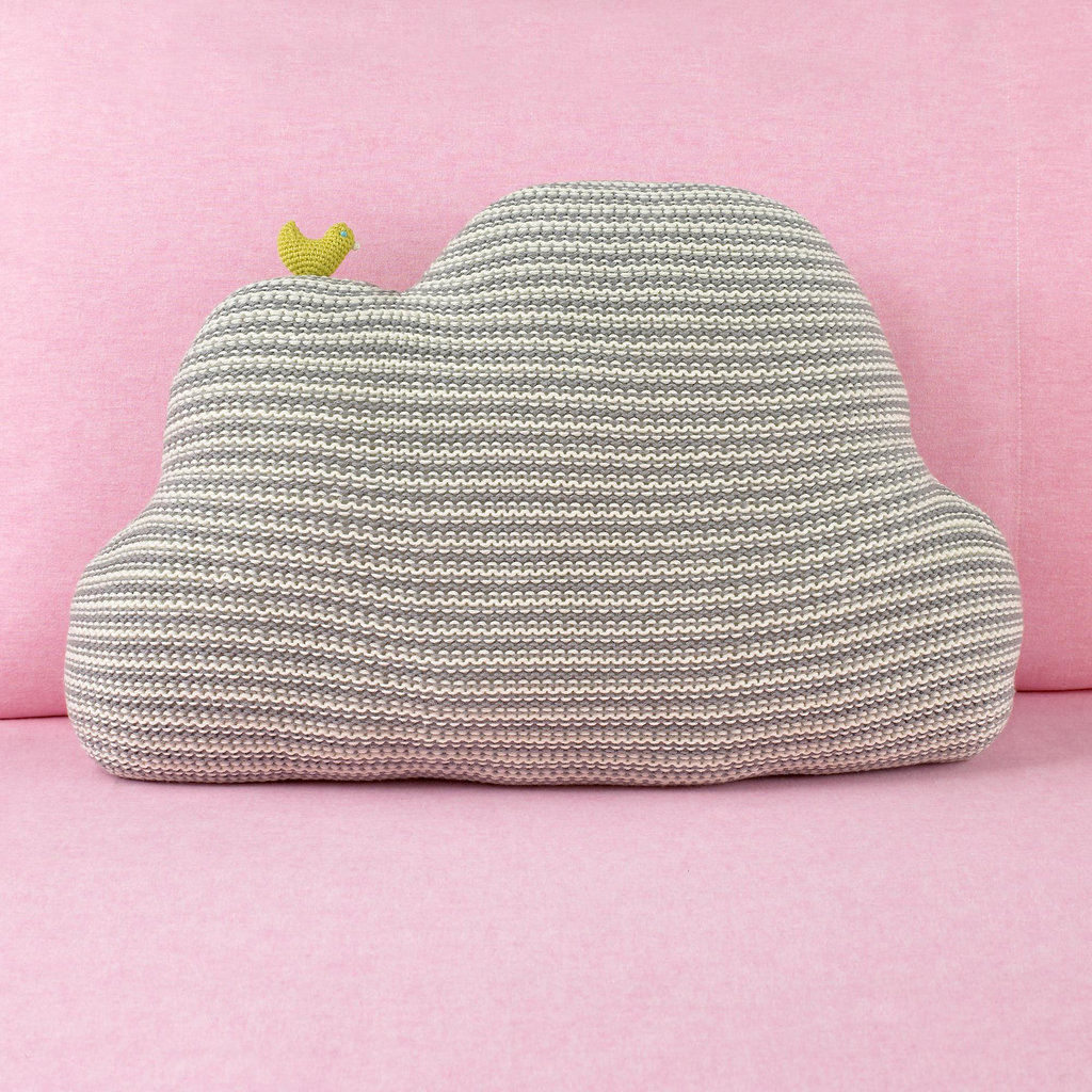 Blabla Grey Cloud Pillow ($62)