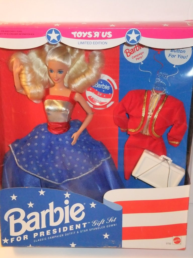 Barbie For President, 1992