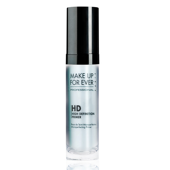 Every bride needs a makeup plan that will keep her shine free and picture perfect on the big day. Turn to Make Up For Ever HD Microperfecting Primer in blue ($34) to get the job done. The colored formula is ideal to add a just-married glow to fairer skin tones.