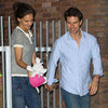Tom Cruise and Katie Holmes Suri in Baton Rouge Pictures