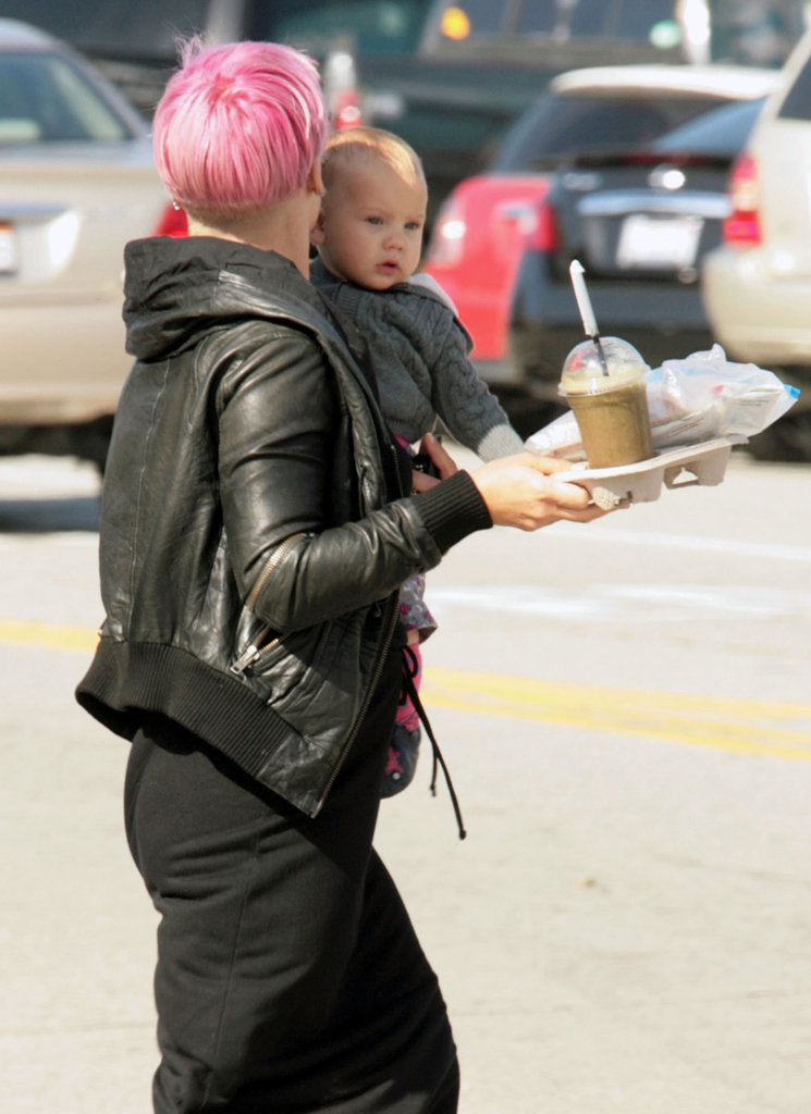Pink and Willow Kick Off Their Weekend With a Trip to Disneyland