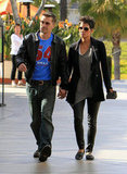 Halle Berry and Olivier Martinez hung out in La.