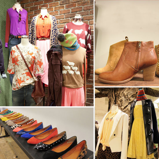 First look! Over 75 photos of Madewell's woodsy-inspired Fall 2012 preview abound.