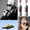 Karl Lagerfeld Designs Helicopters