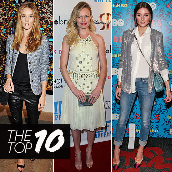 Fab's Top 10 Celebrity Looks of the Week — Rosie, Kate, Olivia, and More!