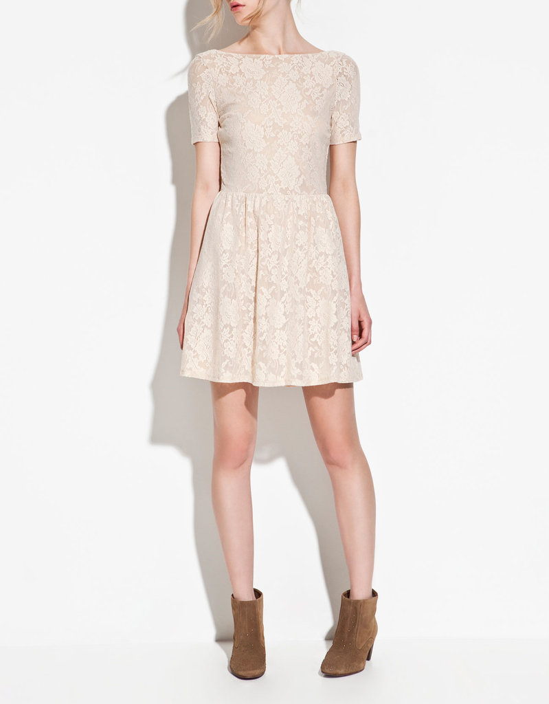 Dressed-up or down, this little lace frock is fit for almost any Easter fete.  Zara Lace Dress ($60)