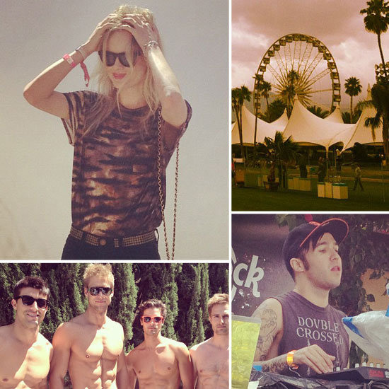 On the Scene at Coachella: Our Best Instagram Pictures From the Weekend!