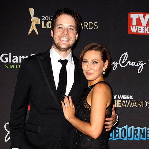 Hamish Blake and Zoe Foster Pictures at 2012 Logies