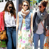 Jessica Alba Has a Colorful Easter — Shop Her Exact Floral Maxi and More