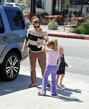 Jennifer Garner stepped out in LA with her daughters.