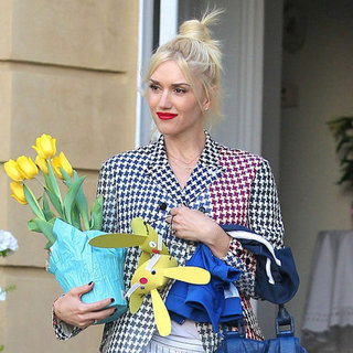 Gwen Stefani and Family Celebrating Easter Pictures
