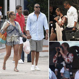 Beyoncé and Jay-Z Take Blue on Her First Vacation to St. Barts!