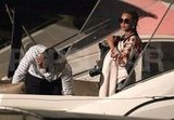 Beyoncé Knowles and Jay-Z wrapped up a St. Barts boat ride with Blue Carter.