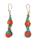 This pair lends that eclectic-global vibe, with just a dose of glam.
