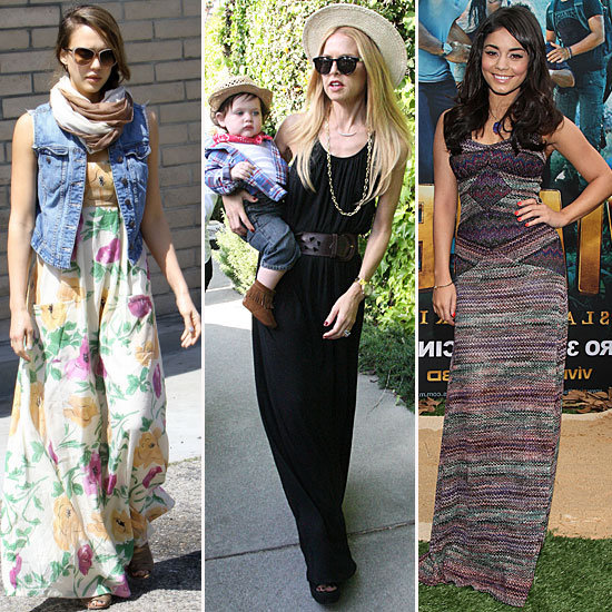5 Ways to Craft Flawless Maxidress Style, Courtesy of 5 Perfectly (Maxi)Dressed Celebs