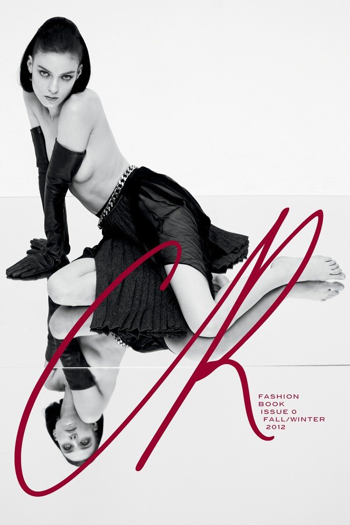 A mock-up of Carine Roitfeld's CR Fashion Book.