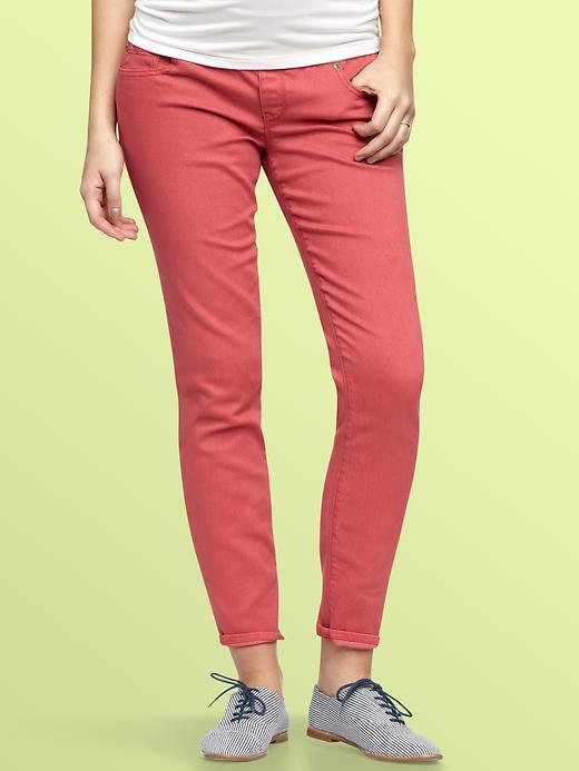 Gap 1969 Nude Demi Panel Always Skinny Jeans ($70)
