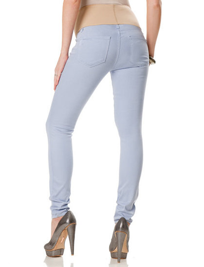 Paige Premium Denim Maternity Jeans in Light Blue ($198)