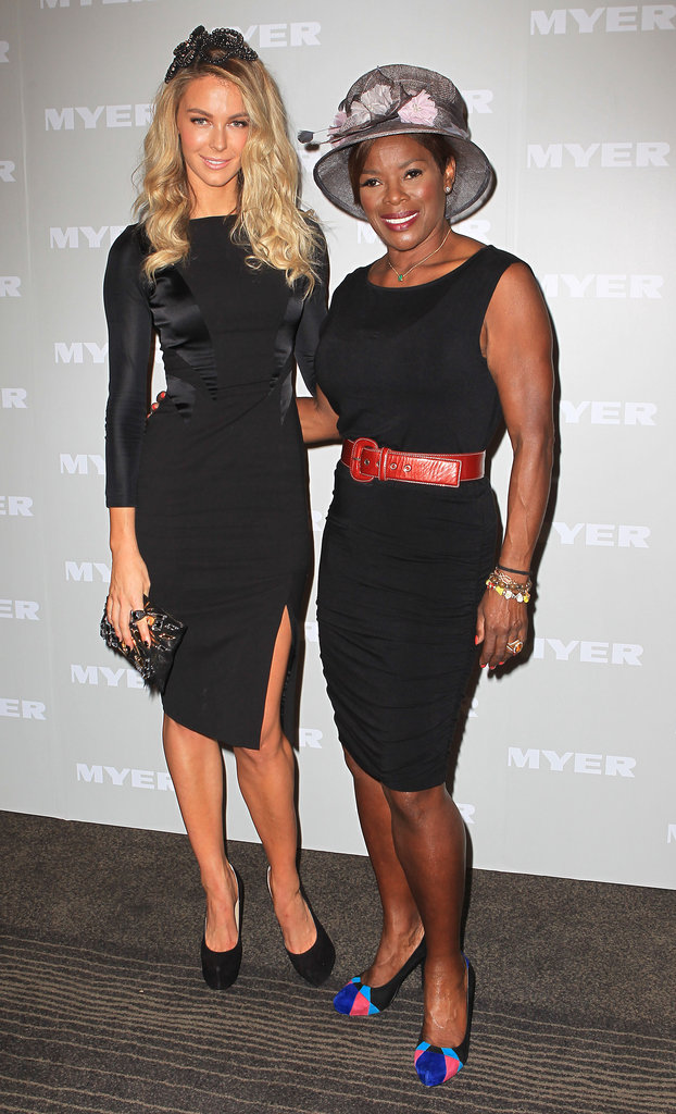 Jennifer Hawkins and Marcia Hines