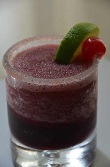Green Tea Cherry Margarita