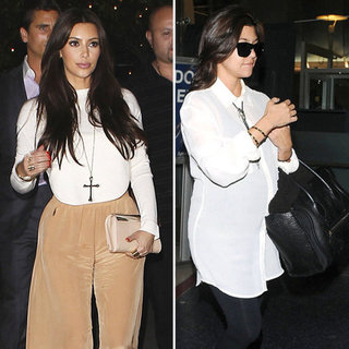 Kim Kardashian Long Cross Necklace