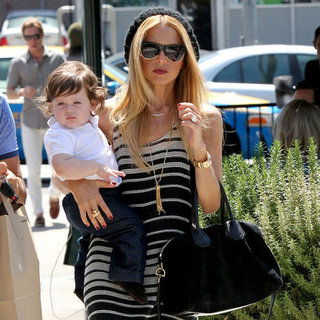 Rachel Zoe and Skyler in LA Pictures