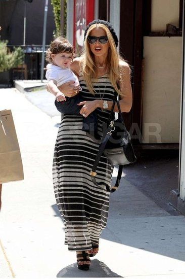 Rachel Zoe Takes a Stylish Lunch With Smiley Skyler