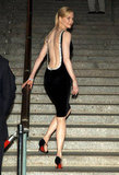 Nicole Kidman showed off her backless dress at the Vanity Fair party during the fourth annual Tribeca Film Festival in April 2005.