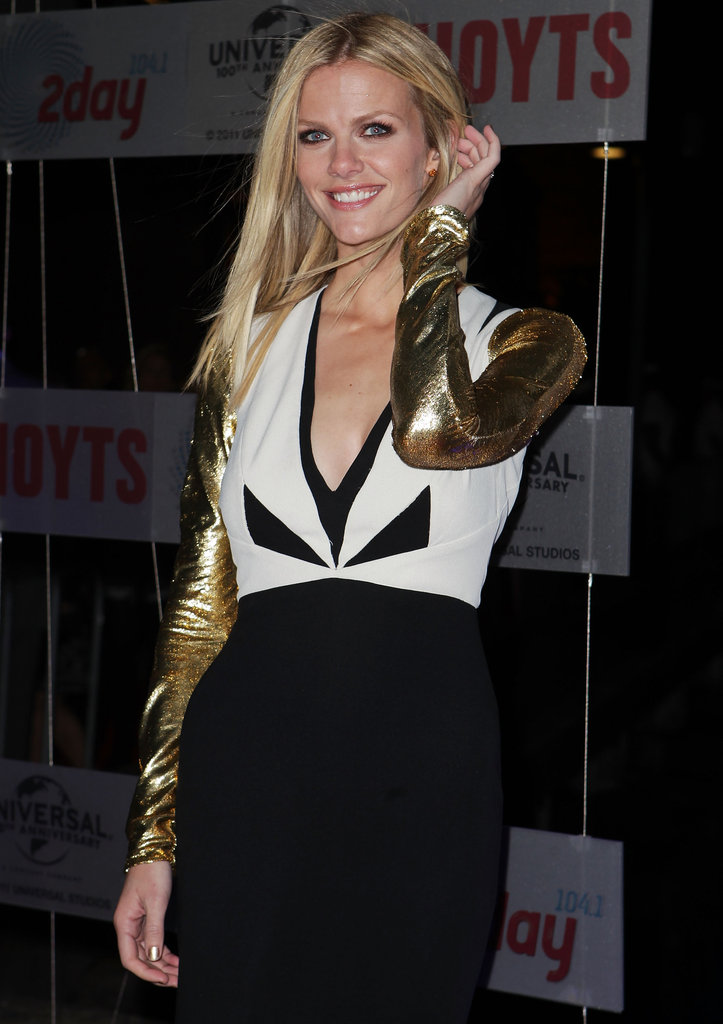 Brooklyn Decker posed at the Battleship premiere in Sydney.
