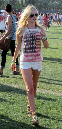 Kate Bosworth wore short shorts in 2011.