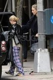 Ashley Olsen and Leelee Sobieski shopped around the West Village in NYC.