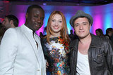 Josh Hutcherson joined The Hunger Games costars Jacqueline Emerson and Dayo Okeniyi.