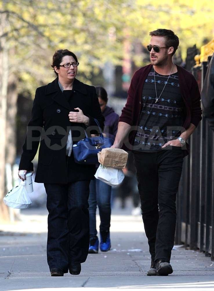 Ryan Gosling had a lunch date in NYC.