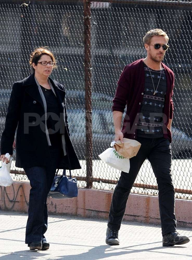 Ryan Gosling had lunch in NYC.