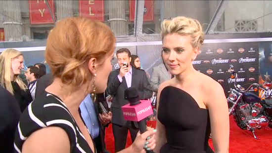 "Scarlett Johansson Reveals Who She'd Love to Grill For Secrets: ""George Clooney""!"