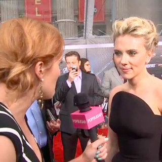 Scarlett Johansson Video Interview Avengers Premiere