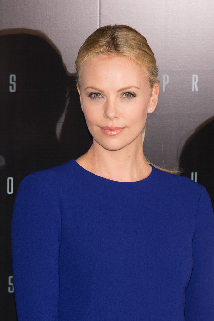 Charlize Theron at the Paris Prometheus premiere.